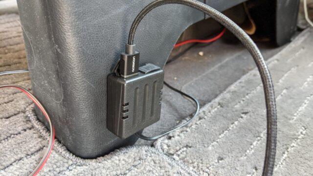 USB電源増設